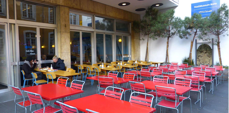 cafe blau foto